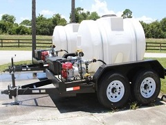 500 gallon water trailer