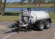 500 gallon potable water trailer specs