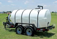 1025 gallon potable water trailer specs