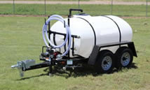 800 gallon potable water trailer specs
