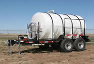 1600 gallon potable water trailer specs