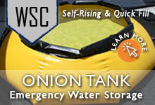 Onion Tank Water Storage